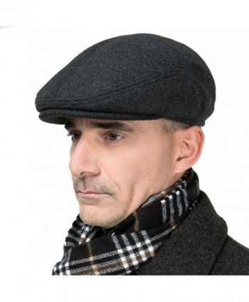 Surblue Fall Winter Peaked Earmuffs in Men's Newsboy Caps
