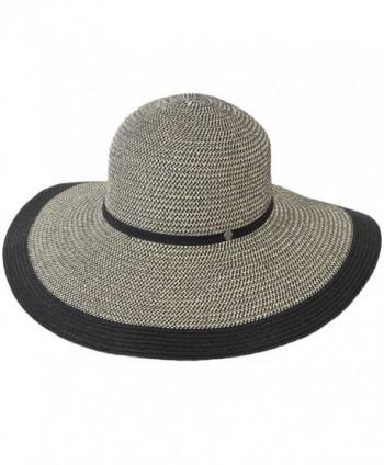 Womens Sun Hat - Wide Brim - One Size Fits most - C612FGU0E6F