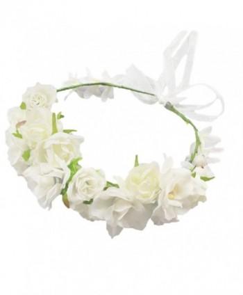 Vivivalue Christmas Handmade Camellia Headpiece - b - C5125PP541L