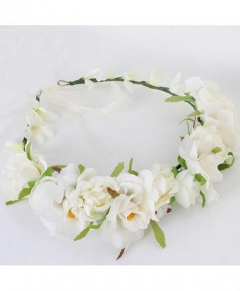 Vivivalue Christmas Handmade Camellia Headpiece in Women's Cold Weather Headbands