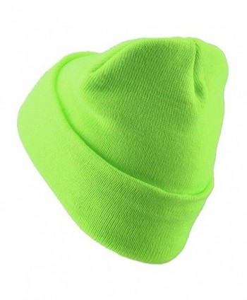 Classic Safety Cuff Beanie Fluorescent