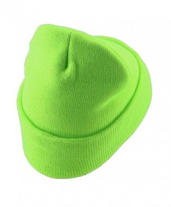 Classic Safety Cuff Beanie Fluorescent in Men's Skullies & Beanies