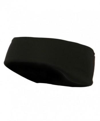 Moisture Wicking Ear Warmer - Black - C611LUGWMPL
