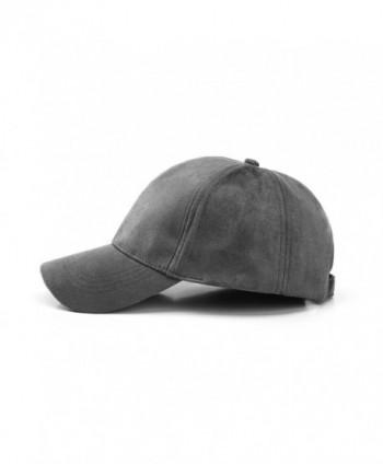 JOOWEN Leather Classic Adjustable Baseball in Women's Baseball Caps