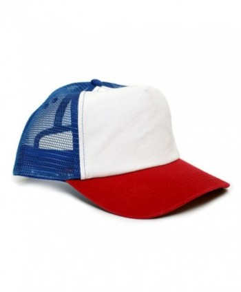 Stranger Things Movie Cap Hat Red/White Cotton Royal mesh unisex-adult Snapback - CV1822KNT4X
