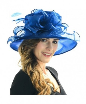 fb7395ef Women Satin Church Christening Derby Kentucky Wedding Formal Party Hat  Ss035 (9 Colors) -