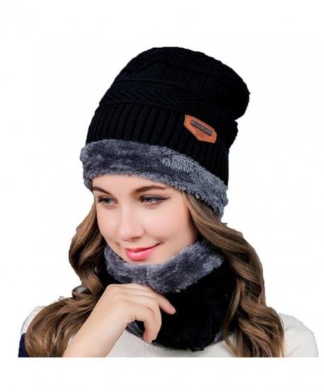 0251188039fb Womens Slouchy Beanie Winter Hat Knit Warm Chunky Beanie Snow Ski Skull Cap  - CN18840XQY2