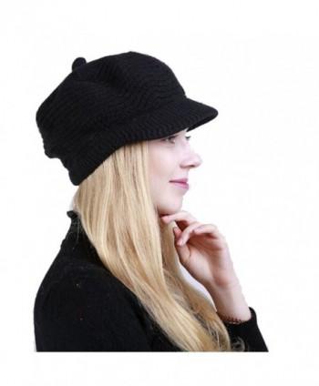 Winter Fashion Knitted Acrylic FIBERS in Women's Skullies & Beanies