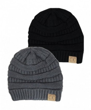 CC Unisex Plain Long Beanie - Many Colors - Multicoloured - CB11PXGFLVL