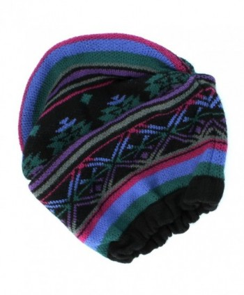 Mudd Slouch Beanie Winter Hat for Women - One Size - Multi - CF11I5IFT61