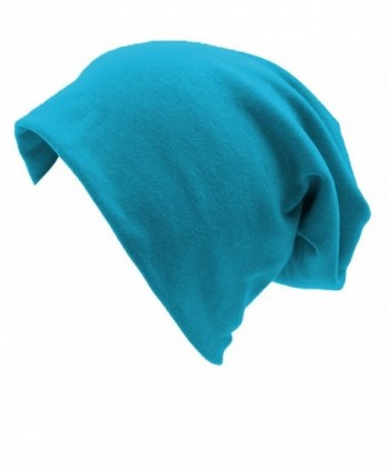 Firsthats Unisex Indoors Cotton Beanie- Soft Sleep Cap For Hairloss- Cancer- Chemo - Deep Blue - C312O31H0BA