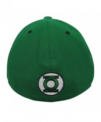 Green Lantern Black Glow Armor 39Thirty Fitted Hat Small//Medium