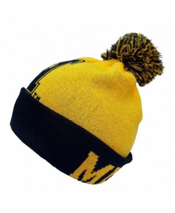 Top World Gridiron Cuffed Mizzou in Men's Skullies & Beanies