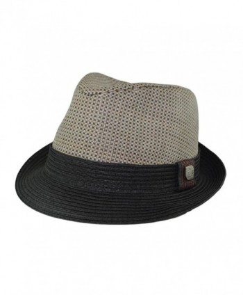 eBigValue Trilby Summer Fedora Medium
