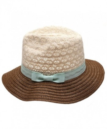 MIRMARU Womens Summer Crochet Floppy in Women's Sun Hats