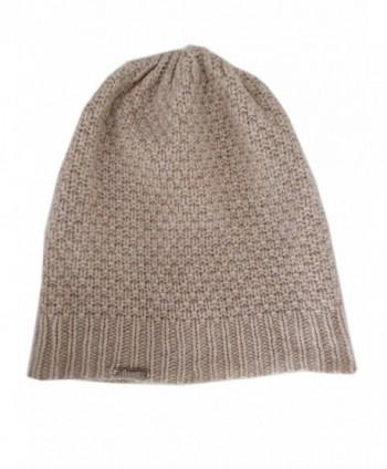 Frost Hats Fall Winter Unisex 95% Cashmere Hat CSH994 - Beige - CH186LQ26RD