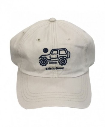 Life is Good. Chill Cap: Native Off Road - Bone White - CP183CC52CS
