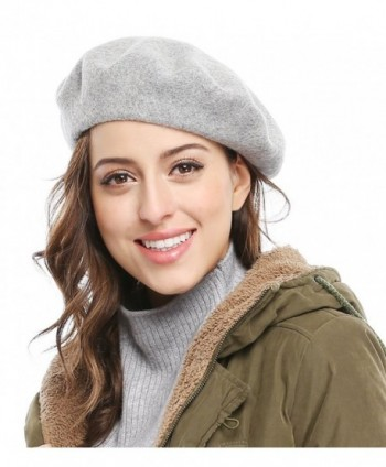 Bellady Women Solid Color French in Women's Berets