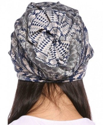 Ababalaya Womens Breathable Floral Nightcap