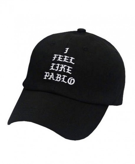 Jojoshine Embroidery Adjustable Baseball Cap Trucker Hat - Black - CZ12O85UXGV