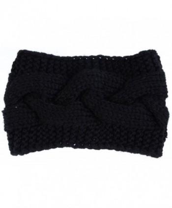 Womens Fashion Crochet Headband Adjustable