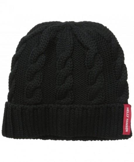 Helly Hansen Cable Knit Urban Beanie - Black - CN11I467KMP