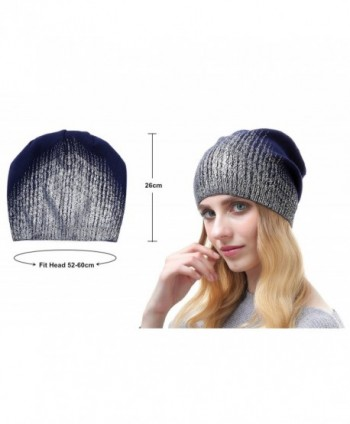 d65fb58ba9d2f Available. Beanie Hats For Women - Knit Cashmere Hat Caps Winter Fashion  Bling ...