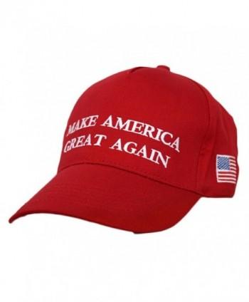 Dutch Brook Make America Great Again Donald Trump 2016 Campaign Cap Hat (Red 2) - Black - C112NR1DNDS