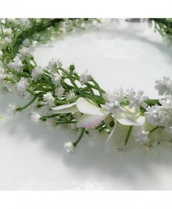 Cuteadorn Bridal Breath Headband Adjustable