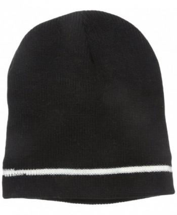 Wigwam Men's Flatline Dome Hat - Black/White - CG11E230FNZ