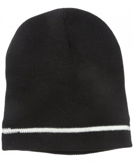 Wigwam Men's Flatline Dome Hat - Black/White - CG11E230FNZ
