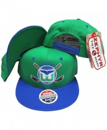 Hartford Whalers Adjustable Snapback Hat / Cap - CF1165HZK63