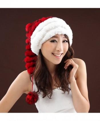 URSFUR Unisex Christmas Winter Rabbit in Women's Berets