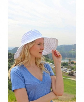 Women s Wide Brim Packable Sun Travel Hat For Large Heads - Ginger ... df540b2119f