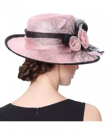 Koola s hats Champagne Brown 3 Layers Sinamay Kentucky Derby Church Sun  Summer Hats - Pink -  Koolas Layers Sinamay Wedding Ascot  Koolas Layers  Sinamay ... 3ef84606e0e8