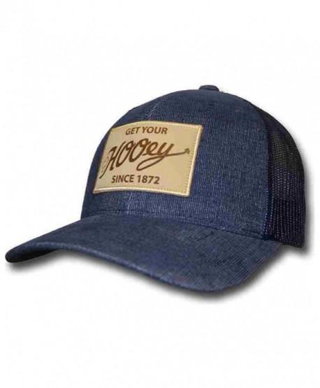 HOOey Men's Blue Tonic Patch Trucker Hat - 1696T-Bl - Blue - CD12MPSCDGZ