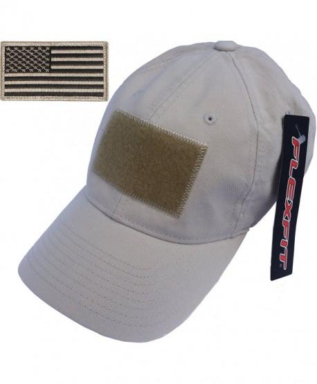 Flexfit Low-Profile Vintage Cotton Tactical Cap - Stone - CI11N80Q0U5