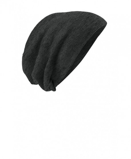 01ab1f793b3 District Men s Slouch Beanie - Charcoal Heather - CC119MUHPQ3