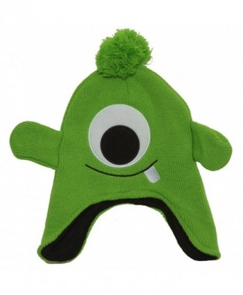 Character Knitted Laplander Cap - Green Kit - CC11HXR07QH